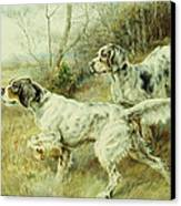 The Hunt Canvas Print by Edmund Henry Osthaus