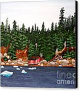 The Ice Took It Canvas Print