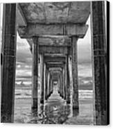 The Iconic Scripps Pier Canvas Print