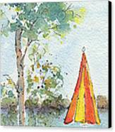 The Invitation Canvas Print by Pat Katz