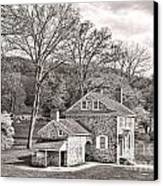 The Isaac Potts House Canvas Print by Olivier Le Queinec