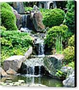 The Japanese Garden Canvas Print by Bill Cannon