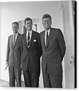 The Kennedy Brothers Canvas Print