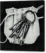 The Keys Canvas Print