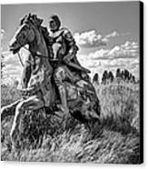 The Knight Goes Forth Canvas Print by Daniel Hagerman