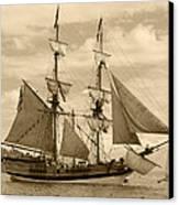 The Lady Washington Ship Canvas Print