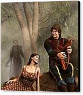 The Last Song Of Tristan Canvas Print by Daniel Eskridge