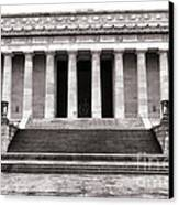 The Lincoln Memorial Canvas Print