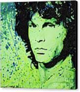 The Lizard King Canvas Print by Chris Mackie