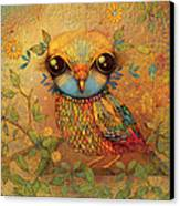 The Love Bird Canvas Print by Karin Taylor