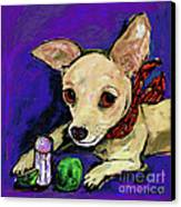 The Lovely Ms. Tecate Guarding Her Salt And Lime Canvas Print by Dale Moses