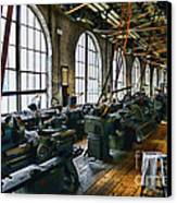 The Machine Shop Canvas Print