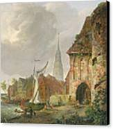 The March Gate In Buxtehude Canvas Print by Adolph Kiste