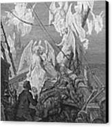 The Mariner Sees The Band Of Angelic Spirits Canvas Print