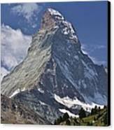 The Matterhorn Canvas Print by David Broome
