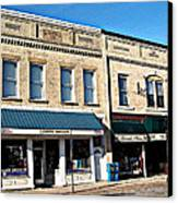 The Mitchell Buildings Canvas Print by MJ Olsen