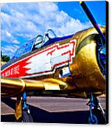 The North American T-6 Texan Airplane Canvas Print by David Patterson