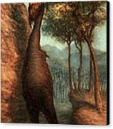 The Obliek Canvas Print by Ethan Harris