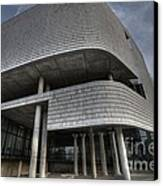 The Ohio State University School Of Architecture Canvas Print by David Bearden