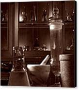 The Old Apothecary Shop Canvas Print by Olivier Le Queinec