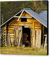 The Old Barn Canvas Print by Heiko Koehrer-Wagner