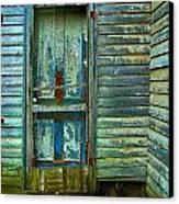 The Old Blue Door Canvas Print