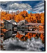 The Old Boat House Canvas Print by Bob Orsillo