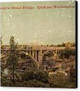 The Old Bridge Canvas Print by Dan Quam