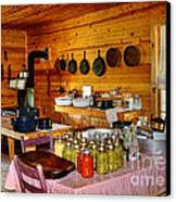 The Old Country Kitchen Canvas Print