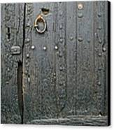The Old Door Canvas Print by France  Art