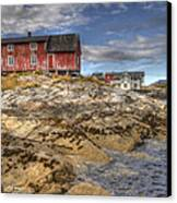 The Old Fisherman's Hut Canvas Print by Heiko Koehrer-Wagner