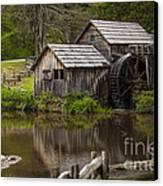 The Old Mill After The Rain Canvas Print