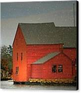 The Old Mill Kirby Pond Canvas Print