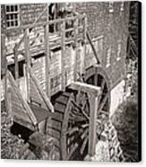 The Old Saw Mill Canvas Print