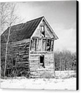 The Old Shack Canvas Print by Gary Heller