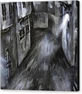 The Old Street Canvas Print by Jamil Alkhoury