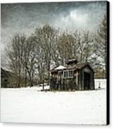 The Old Sugar Shack Canvas Print by Edward Fielding