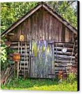 The Old Tool Shed II Canvas Print by Lanita Williams