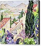 The Old Town Vaison Canvas Print