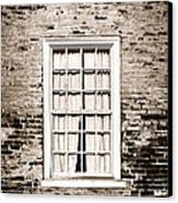 The Old Window Canvas Print by Olivier Le Queinec
