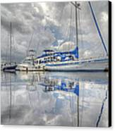 The Outer Pier Canvas Print