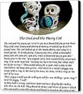 The Owl And The Pussy Cat Canvas Print by John Chatterley