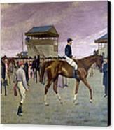 The Owner S Enclosure Newmarket Canvas Print