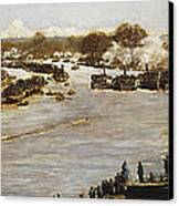 The Oxford And Cambridge Boat Race Canvas Print