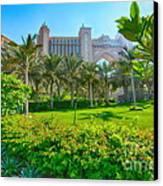 The Palm - Atlantis - Dubai Canvas Print by George Paris