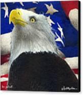 The Patriot... Canvas Print