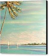 The Perfect Day Canvas Print by The Beach  Dreamer