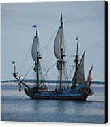 The Pirate Ship Canvas Print by Cecelia Helwig