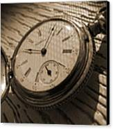 The Pocket Watch Canvas Print