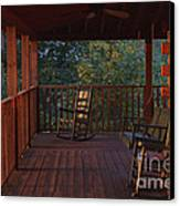 The Porch Beckons Canvas Print by Kay Pickens